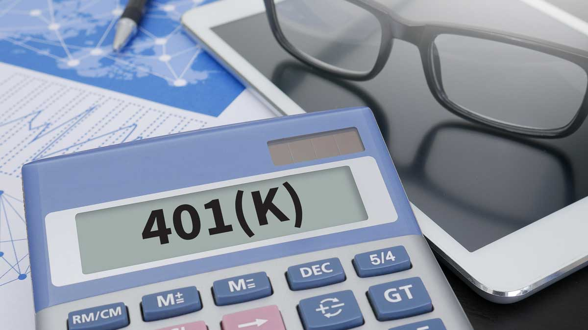 calculator with 401k